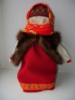 Кукла Боярыня в душегрее