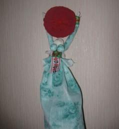 Домашняя кукла-масленица