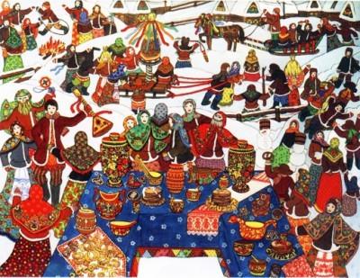 Возникновение народной игры на Руси