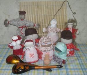 Детские игрушки славян