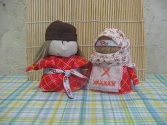 Мужские и женские образы в куклах