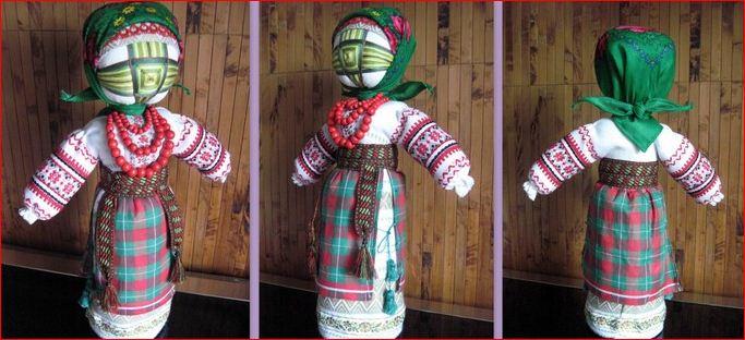Как сделать куклу мотанку своими руками