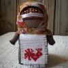 Кукла Крупеничка с вышивкой