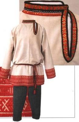 Особенности русского национального костюма