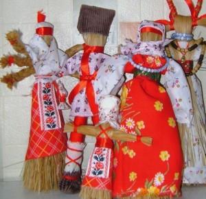 Народные тряпичные куклы